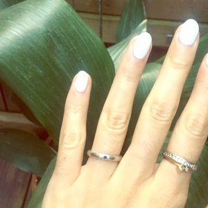 Gorgeous Peretti Tiffany's sapphire silver ring